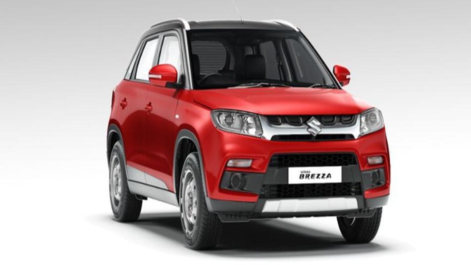 Suzuki Vitara Brezza 2019 Exterior 007