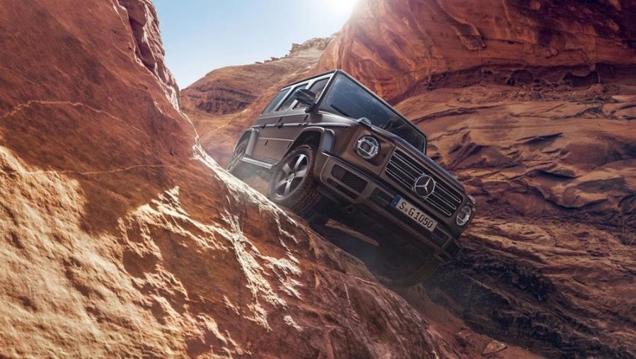Mercedes-Benz G-Class 2019 Exterior 006