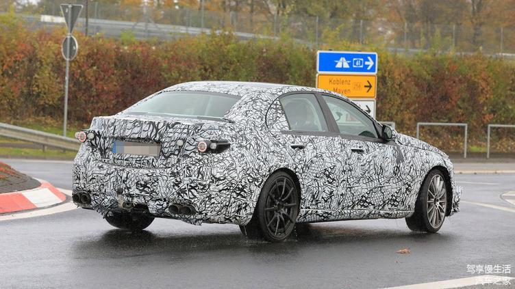 Tertangkap Kamera: Mercedes Benz AMG C43 Usung mesin 4 Silinder 2.0T 02