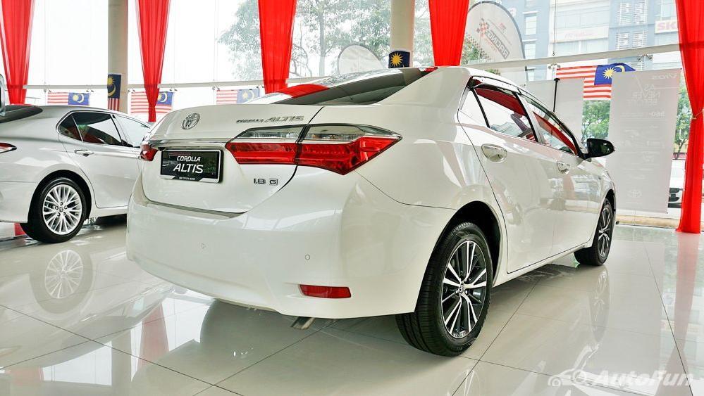 Toyota Corolla Altis 2019 Exterior 056