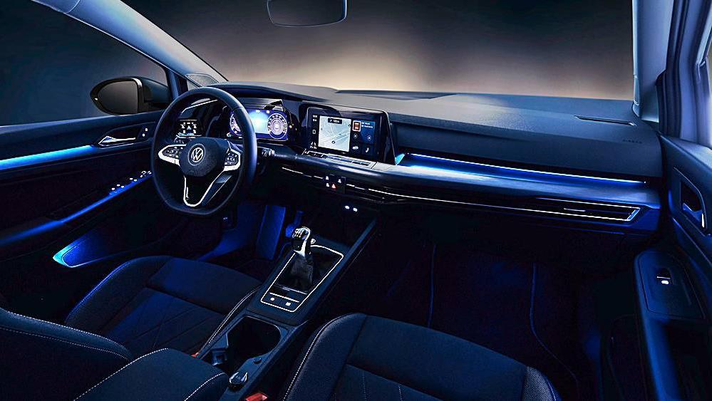 Volkswagen Golf 2019 Interior 062