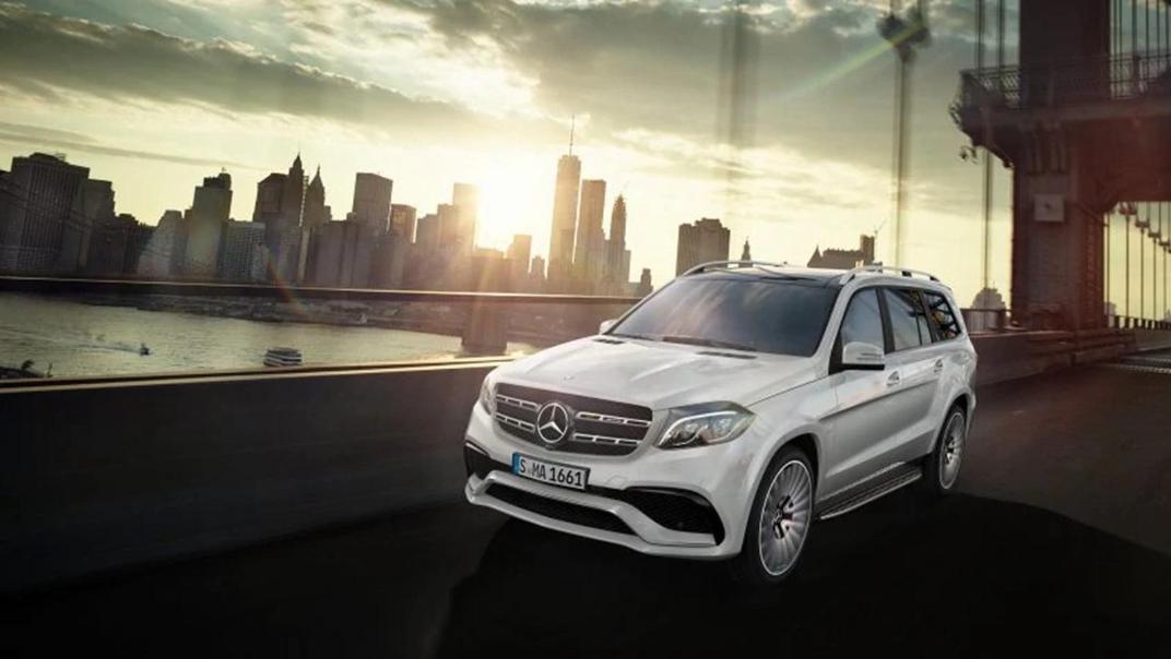 Mercedes-Benz GLS-Class 2019 Exterior 005