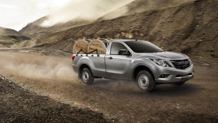2021 Mazda BT-50 Upcoming Version Exterior 010