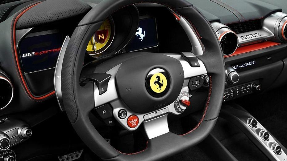 Ferrari 812 Superfast 2019 Interior 002