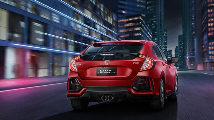 Honda Civic Hatchback 2019 Exterior 002