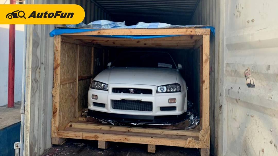 Bea Cukai Lelang Dua Unit Nissan Skyline GT-R di Bawah Harga Pasaran, Ada yang Minat? 01