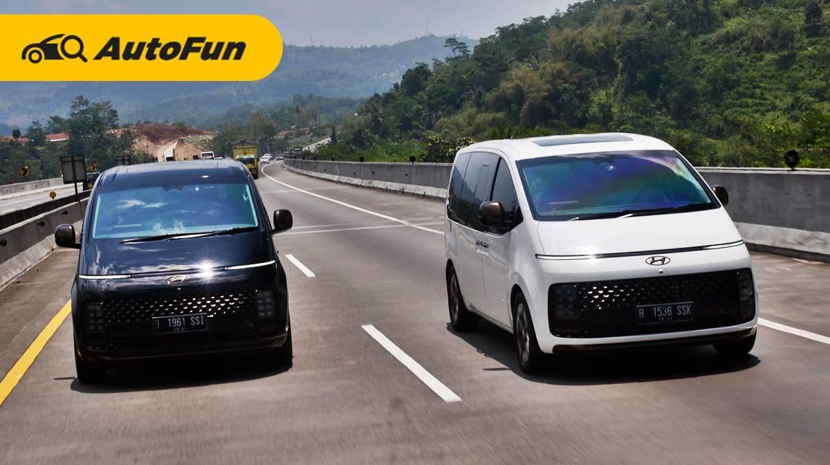 Test Drive Singkat Hyundai Staria 2021 : MPV Bongsor yang Fun To Drive 01