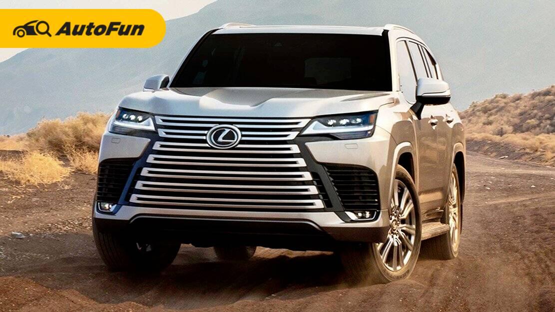 Lexus LX 600 2022 Akhirnya Meluncur, SUV Powerful dan Senyaman Sedan 01