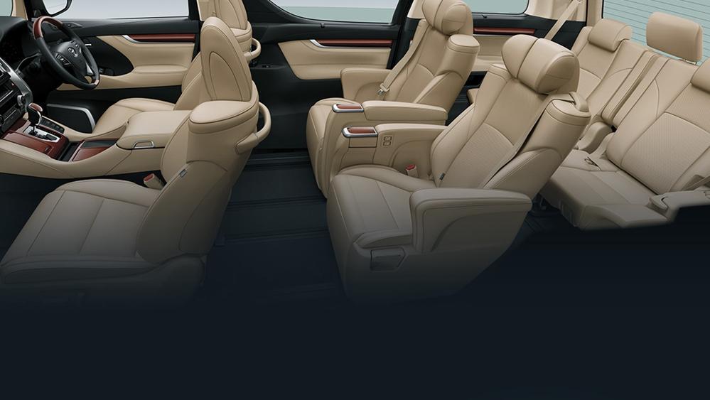 Toyota Alphard 2019 Interior 009