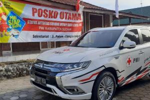 Berkat Fitur Mitsubishi Outlander PHEV Berhasil Menolong Korban Erupsi Gunung Merapi