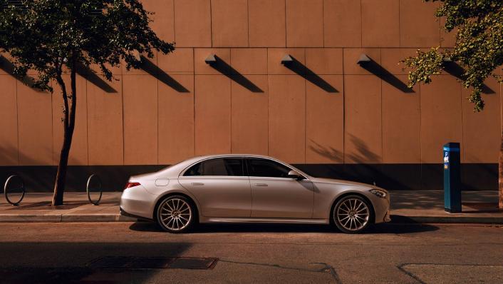 2021 Mercedes-Benz S-Class S 450 4MATIC Luxury Exterior 004