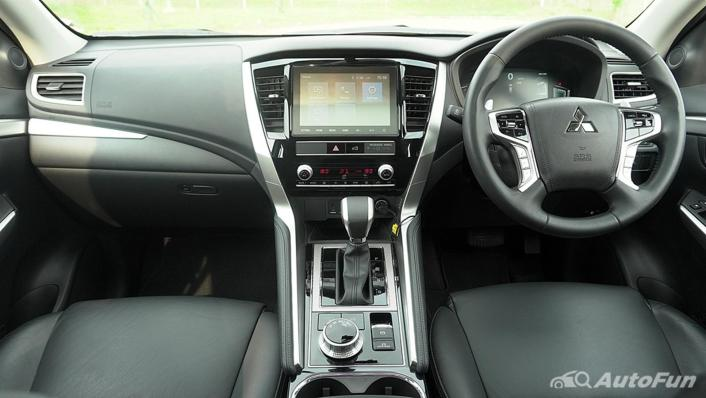 2021 Mitsubishi Pajero Sport Dakar Ultimate 4x4 AT Interior 002