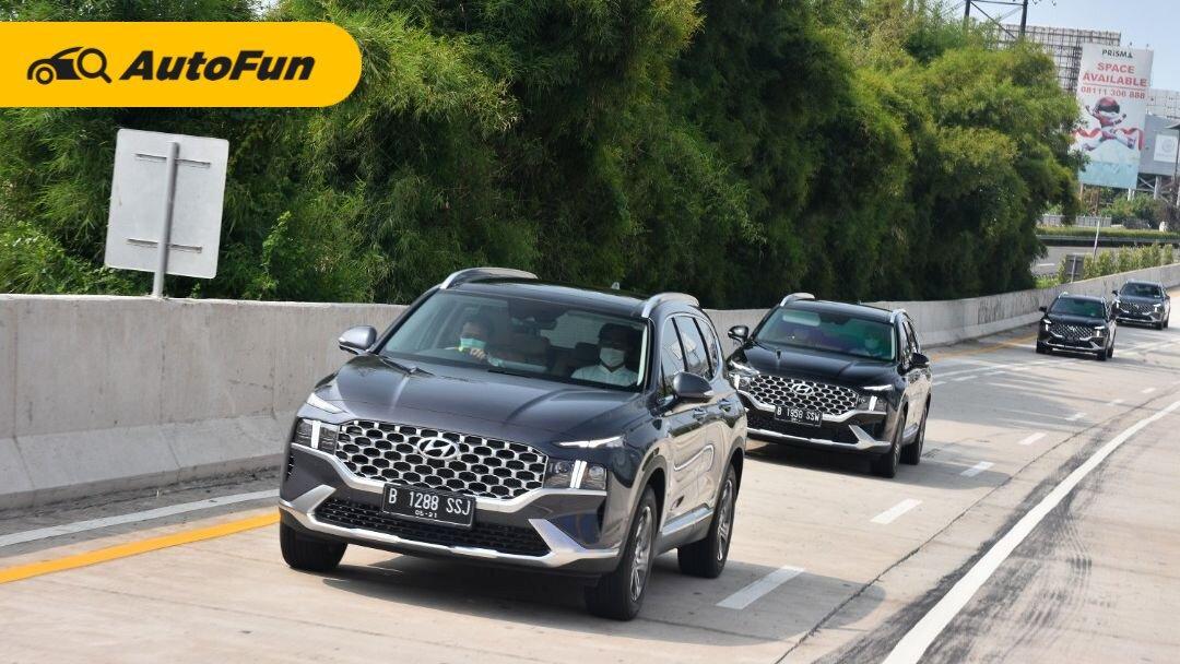 First Drive Hyundai Santa Fe Bensin, SUV Mewah yang Bikin Ganteng ala Oppa Korea! 01