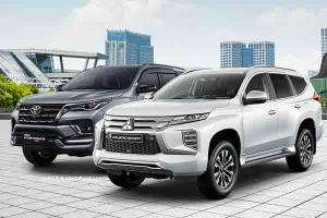 Skema Cicilan New Mitsubishi Pajero Sport 2021 Vs New Toyota Fortuner 2021, Mana yang Paling Terjangkau?