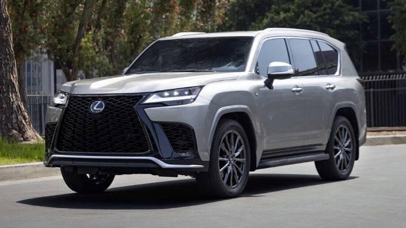 Lexus LX 600 2022 Akhirnya Meluncur, SUV Powerful dan Senyaman Sedan 02