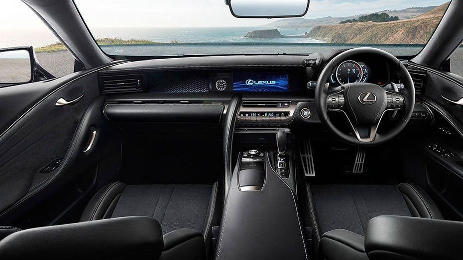 Lexus LC 2019 Interior 001