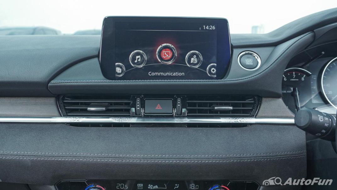 Mazda 6 Elite Estate Interior 023