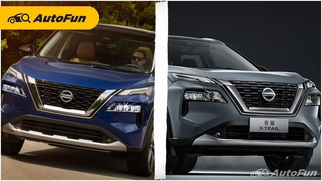 Serupa Tapi Tak Sama, Ini Perbedaan Nissan X-Trail 2021 di China dengan Nissan Rogue di AS 01