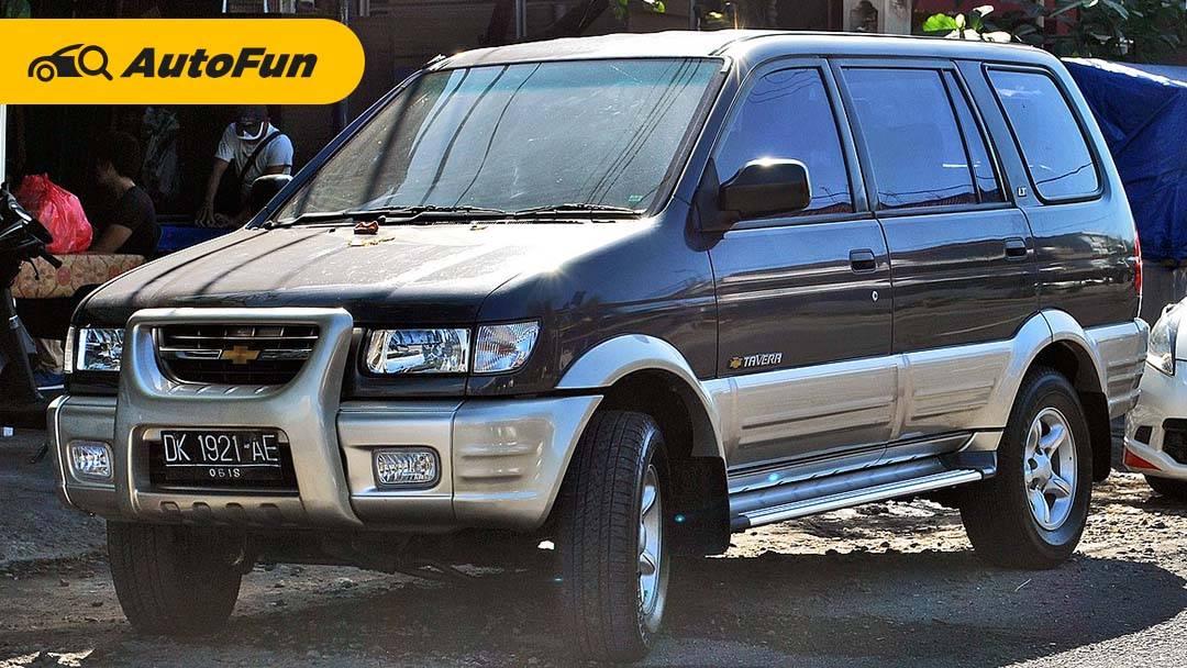 Kelebihan dan Kekurangan Chevrolet Tavera, Rebadge Isuzu Panther Touring Mesin Bensin 01