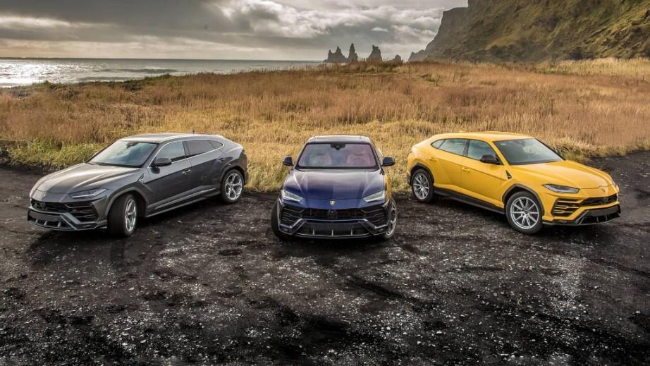 Lamborghini Urus 2019 Exterior 001