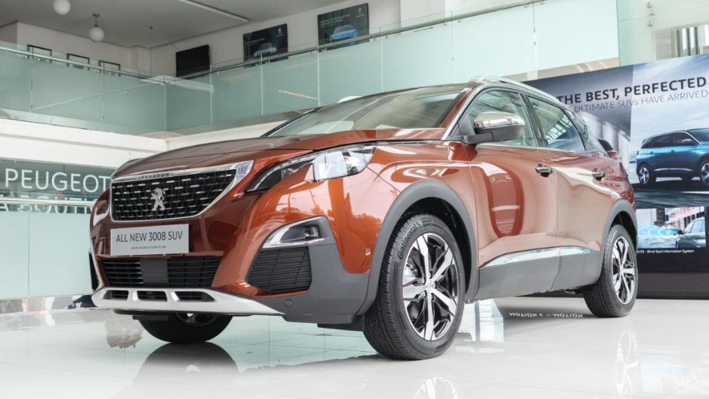 Peugeot 3008 2019 Exterior 001