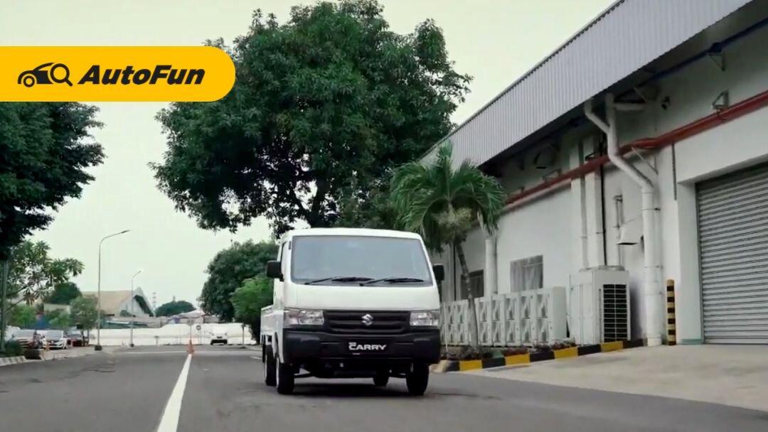 Update Penampilan, Cara Suzuki Carry Pickup 2021 Pertahankan Dominasi di Pasar Kendaraan Niaga 01