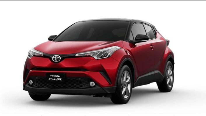 Toyota CHR 2019 Exterior 001