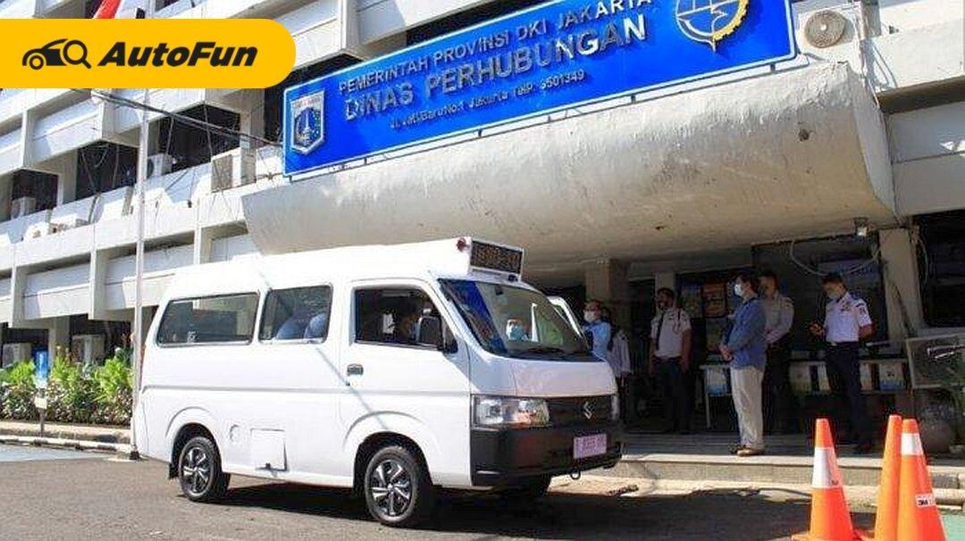 Siap Kembali Jadi Raja Angkot, New Suzuki Carry Untuk JakLingko Dipasangi AC 01