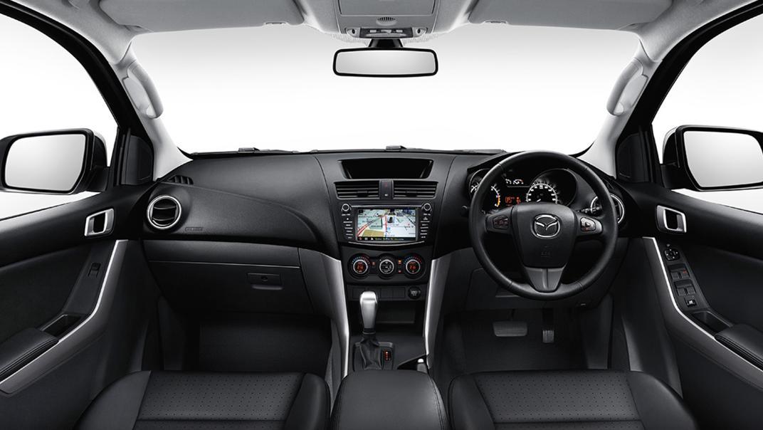 2021 Mazda BT-50 Upcoming Version Interior 001