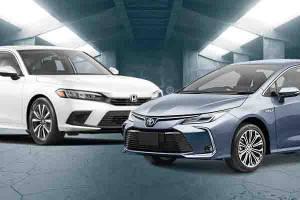 Honda Civic 2022 Vs Toyota Corolla Altis, Mana yang Lebih Unggul dari Segi Spesifikasi?