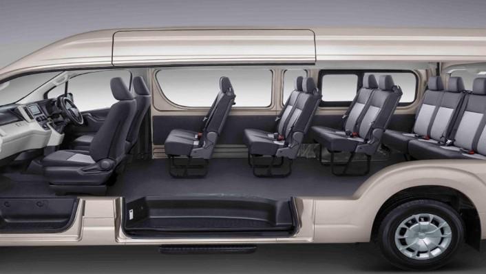 Toyota Hiace 2019 Interior 007