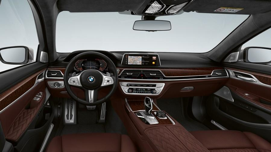 BMW 7 Series Sedan 2019 Interior 001