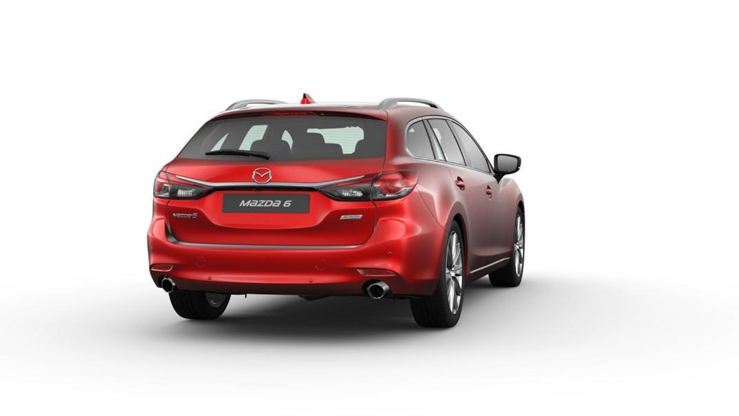Mazda 6 Elite Estate Exterior 060