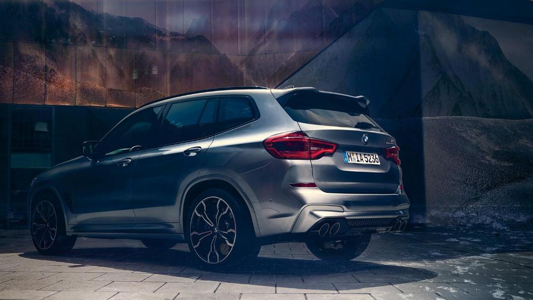 BMW X3 M Exterior 009