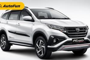 Nama Besar Toyota, Membuat Toyota Rush Jadi Juara SUV Terlaris di Indonesia 2020