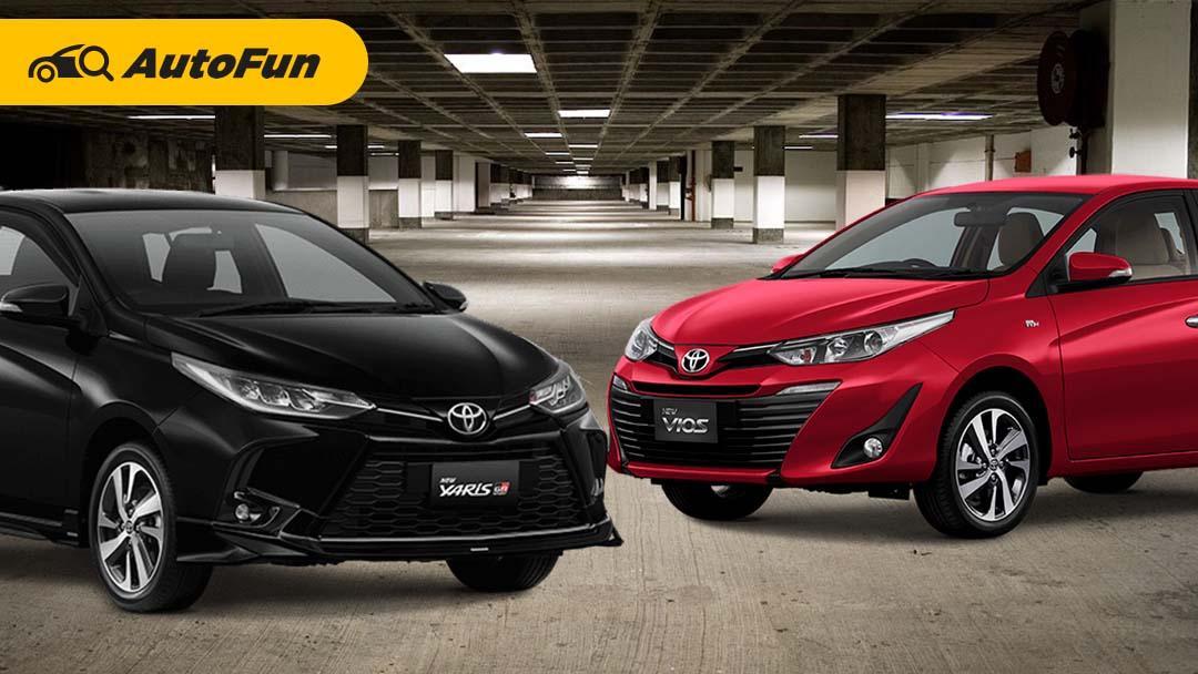 Budget di Bawah Rp300 Juta, Pilih Toyota Yaris GR Sport CVT atau Toyota Vios G CVT? 01