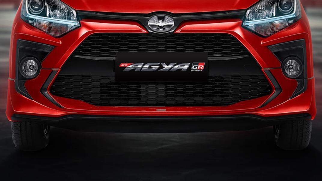 2021 Toyota Agya 1.2 GR Sport A/T Exterior 011