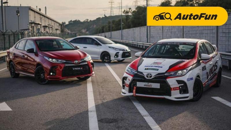 Bukan Cuma Aksesoris Seperti di Indonesia, Toyota Vios GR Sport di Malaysia Dapat 'Upgrade' Performa 01