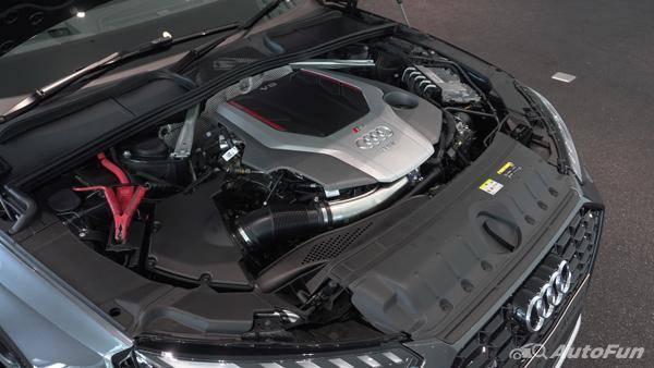 Mesin Audi RS4