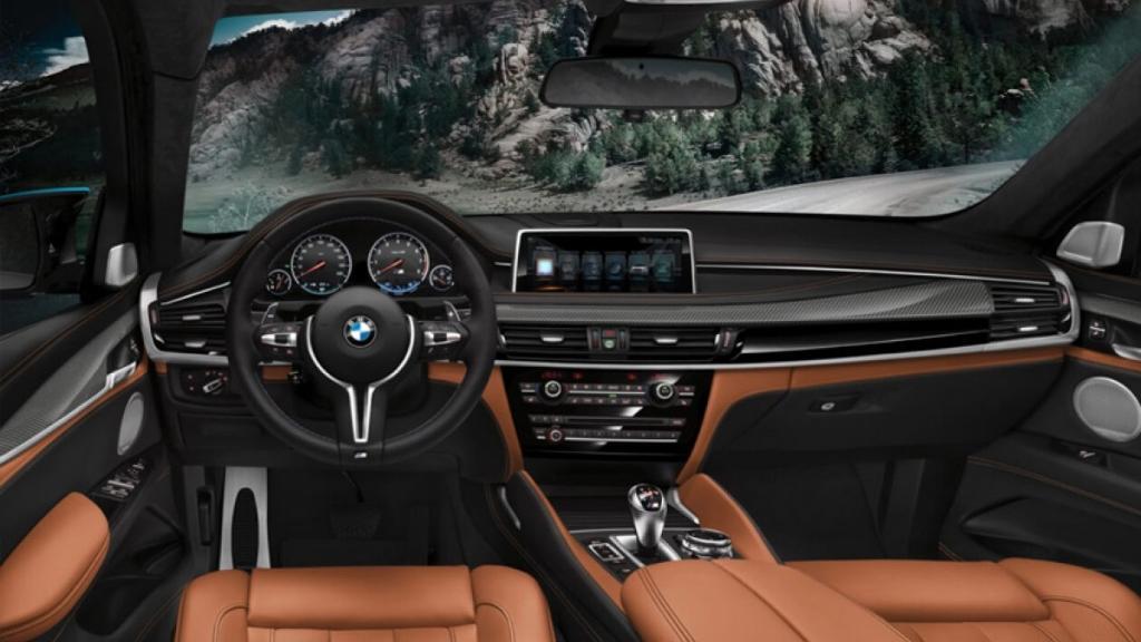 BMW X6 M 2019 Interior 001