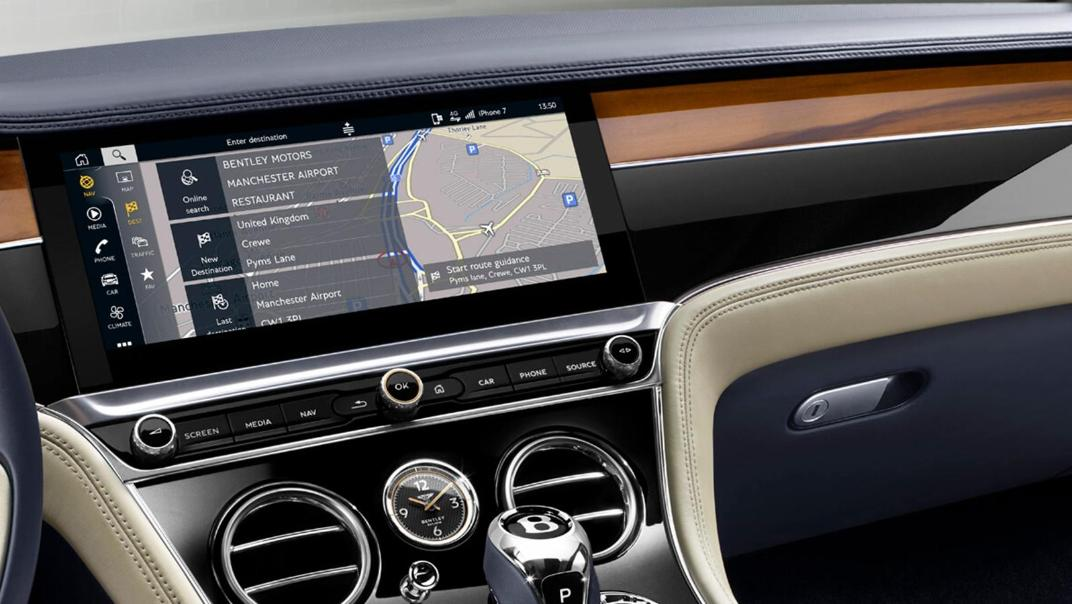 Bentley Continental 2019 Interior 004
