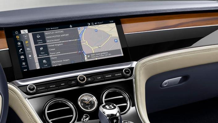 Bentley Continental 2019 Interior 004