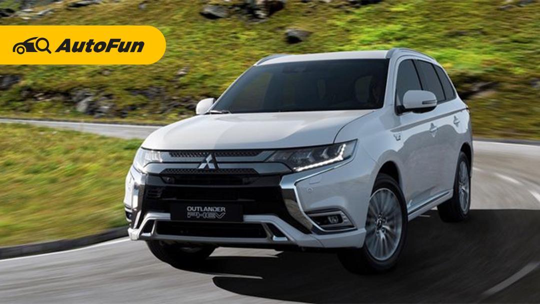 Mitsubishi Outlander PHEV 2021 Mulai Diproduksi di Thailand, Pertama di Luar Jepang 01