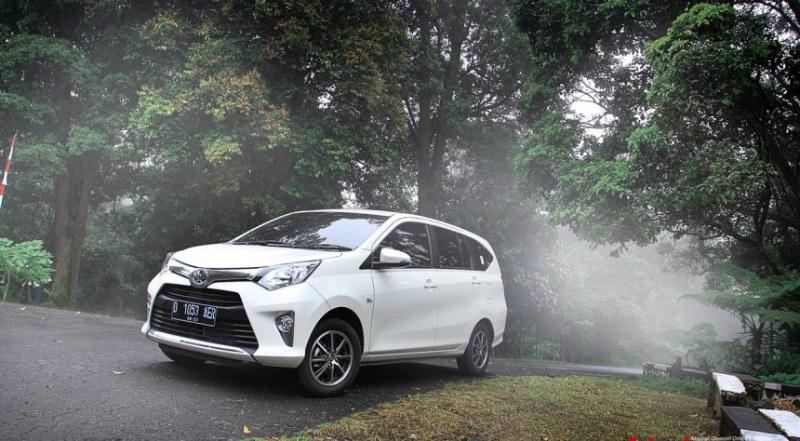 Pakai Mesin 1.200 Cc, Apakah Toyota Calya 2021 Cukup Tangguh Jadi City Carnya Orang Bandung? 02