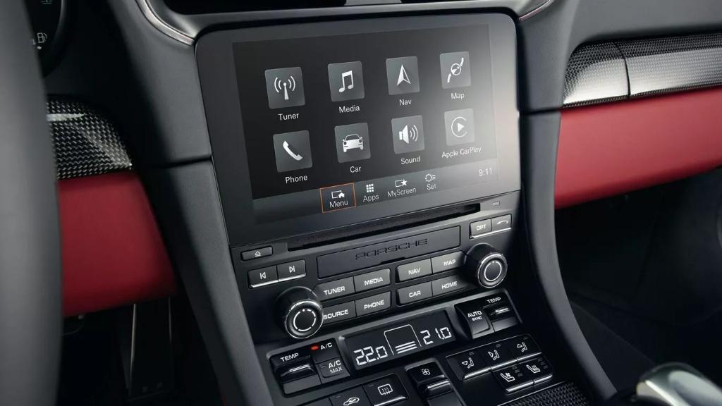 Porsche 911 2019 Interior 046