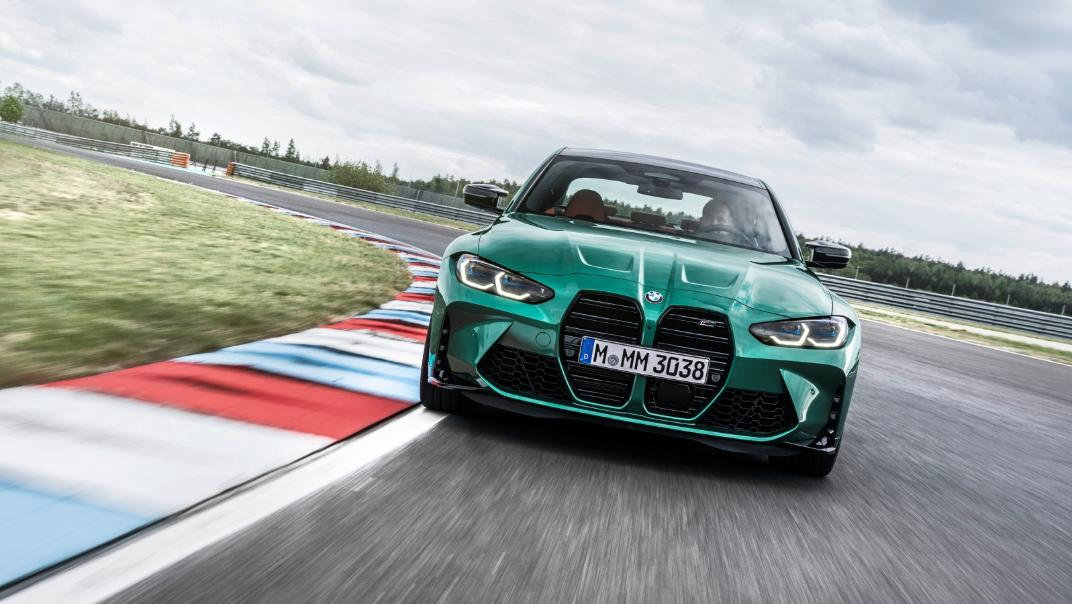 2021 BMW M3 Competition Exterior 014