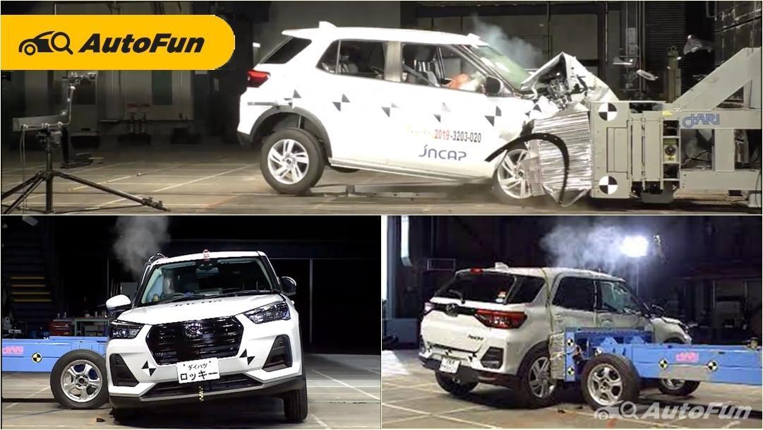 Hasil Uji Tabrak Toyota Raize dan Daihatsu Rocky Raih Bintang 5, Lengkapi Jaminan Keselamatan 01