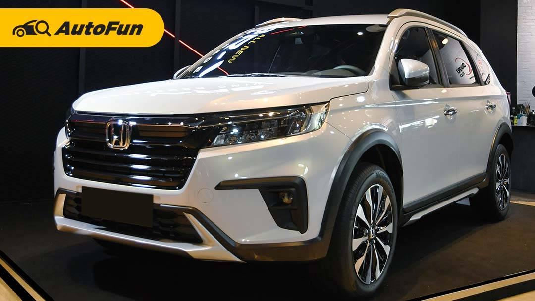 FAQ Seputar All New Honda BR-V 2022: Bukan SUV Bermesin City Hatchback dan Dapat Honda Sensing 01