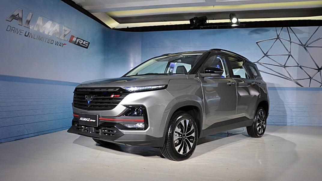 2021 Wuling Almaz RS Exterior 005