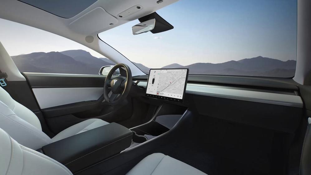 Tesla Model 3 2019 Interior 003
